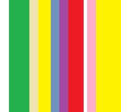 明るい縦のライン模様・鮮やかな色合いの縦縞模様
